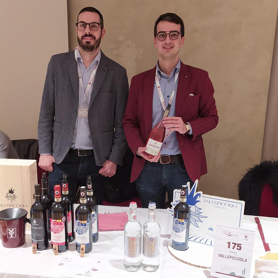 Wine &                                        Siena a Palazzo Squarcialupi